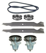 Sears Craftsman Lt2000 42 Mower Deck Parts Kit Spindles Blades Free Shipping