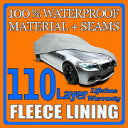 Ford Mustang Convertible 1999-2004 Car Cover - 100 Waterproof 100 Breathable