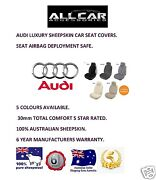 Sheepskin Car Seatcovers For Audi All Models, Airbag Safe , 30mm Tc ,5 Colours.