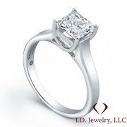 Jeff Cooper Platinum Solitaire Setting 2969