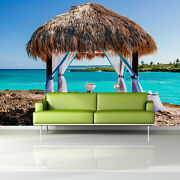 Andros Island Stunning Turquoise 3d Full Wall Mural Photo Wallpaper Printed Deco