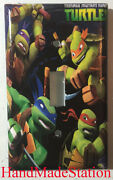 Teenage Ninja Turtles Light Switch Outlet Duplex Wall Cover Plate Home Decor
