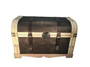 Large Vienna Storage Trunk Wooden Hope Chest - Beige Color