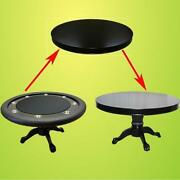 Mrc Poker Table The Mystic Round Table Solid Wood Legs Plus Dining Top