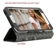 Gecko Grip Folio For Samsung Galaxy Tab 3, 8 Device, Case With Stand, Gg970008