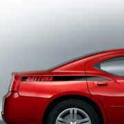 Daytona Style Quarter Panel Accent Side Decal Fits Dodge Charger 2006-2010