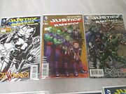 Justice League Of America 3 Regular 125, And 1100 Nm+ Sketch Variant New 52