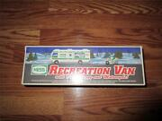 New 1998 Hess Toy Recreation Van With Dune Buggy And Motorcycle Nib Collectible