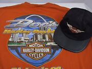 Harley Davidson L Mens T Shirt St. Louis Arch Docs And Childs Harley Hat