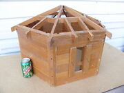 A Log Grainery Salesmanand039s Sample Model Kalispell Mt Lincoln Logs Doll House T