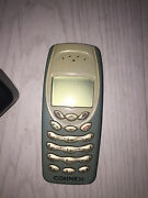 Nokia 3410 Cellular Phone Old Phone Collectible Vintage 2002
