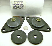 Navy Ship Equipment 803-138524-10m50 Nos Resilient Mount Set .400 Id 1 High