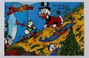 Alan Young Signed Disney Scrooge 11x17 Photo Duck Tales Auto Oc Hologram Coa A