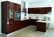 High Gloss Lacquer/acrylic/laminate Doors For Kitchen Cabinets European Style