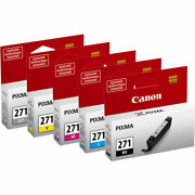 Canon Pixma Mg5720 Standard Yield Ink Cartridge 5 Color Set Bk/c/m/y/gy