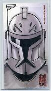Captain Rex Topps Star Wars Clone Wars Widevision Animator Sketch By Thang Le