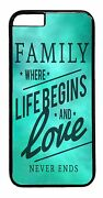 Cute Family Love Quote Pattern For Iphone 6/6s/plus/5/5s/5c/4s Back Case Cover