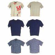 Sean John Short Sleeves Menand039s Tops Assorted Styles/colors Limited Sizes