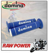 Yamaha Tw125 N Trailway80 Km/h 2000 Domino Grips Offroad Blue - White 8301166