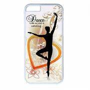 For Iphone 4s 5s 5c 6 6s Plus Skin Case Ballet Balerina Dancer Quote Back Cover