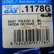 Vw Jetta Iv Skoda Actavia 97and039-up Seat Toledo Ii 99and039-up Rear Shocks Pair
