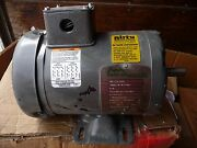 Dirty Duty New 3/4 Hp Electric Motor Mine Air Systems