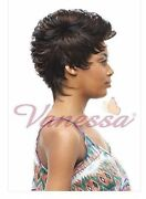 Elvas - Vanessa Fashion Synthetic Full Wig Short Heat Fiber Mohawk Style