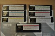 Microsoft Ms-dos 5, 6 Diskettes 5'1/4, Vintage Software For 386 Computer