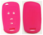 Pink Chevrolet 4 Buttons Flip Key Cover For Holden Vf Ss Commodore