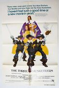 Genuine Theatrical Movie Poster 'the Three Musketeers' 1973 Folded 1 Sheet