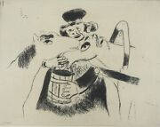 Marc Chagall Russian French 1887-1985 Etching Plate No. Xxvi.