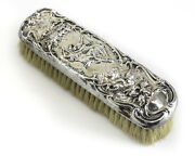 Theodore Foster And Bros Fandb Art Nouveau Sterling Silver Vanity Clothes Brush