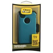 Otterbox Defender Series Hybrid Case And Holster For Iphone 4 And 4s Light Teal