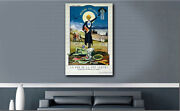 The Death Of The Green Fairy Absinthe Prohibition Gantner Canvas Poster Print