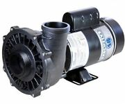 Waterway 3421221-1a 3hp 230v 2-spd Spa Pump Side Discharge 48 Frame Executive