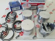 Engine Piston Set 6 Standard Fits L24 And L26 - 240z And 260z Datsunand039s 1969-1975