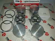 Engine Piston Set 6 +.030 Over Fits L24 And L26 - 240z And 260z Datsunand039s 1969-1975