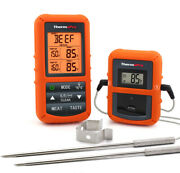 Thermopro Meat Thermometer Dual Probe Wireless Digital Oven Grill Thermometer