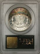 1881-s Morgan Silver 1 Coin Pcgs Ms-65 Gem Bu Nicely Toned Reverse Ogh Ta