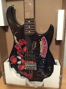 Signed By Stan Lee - Peavey Rockmaster Spiderman Guitar+ Pic Marvel