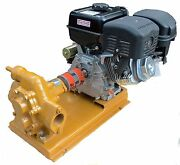 100 Gpm Gas Powered Wvo Oil Transfer Gear Pump For Motor Oil Biodiesel
