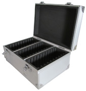 Aluminum Storage And Display Box Case Holds 30 Pcgs Ngc Anacs Coin Holders Slabs