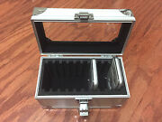Aluminum Storage And Display Box Case Holds 10 Pcgs Ngc Anacs Coin Holders Slabs