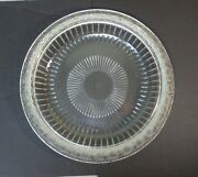 Wonderful Lalique Clear And Frosted Crystal Marguerite 14 Centerpiece Bowl