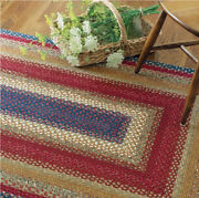 Log Cabin Braided Area Rug By Homespice Decor. Choose Your Shape And Size