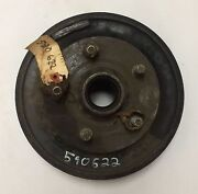 1939-1947 Dodge Truck Right Front Brake Hub And Drum, Good Used