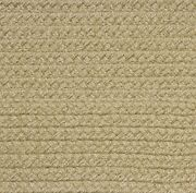 Solid Beige Country Braided Area Rugs By Colonial Rug-many Sizes 103