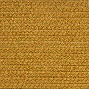 Solid Gold Country Braided Area Rugs By Colonial Rug-many Sizes 108