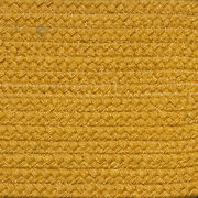 Solid Yellow Country Braided Area Rug And Runner Many Sizes Available