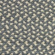 Gray And Cream Check Braided Area Rug And Runner Many Sizes Available